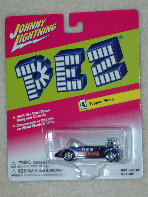 Pez Johnny Lighting Car - Spaceman