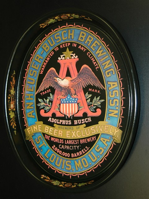Anheuser - Busch Beer Tray 3