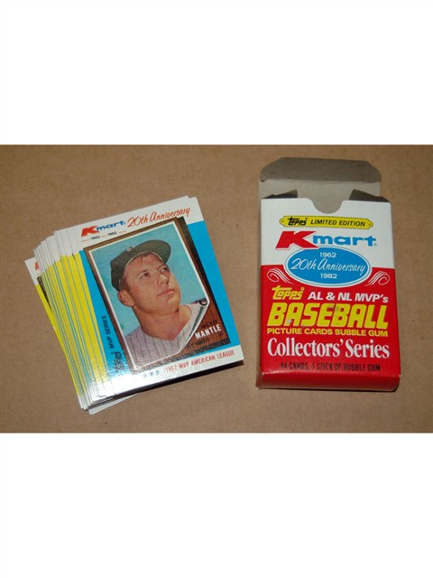 Kmart 20th Anniversary Baseball Card Set 500 Wwwgatreasures