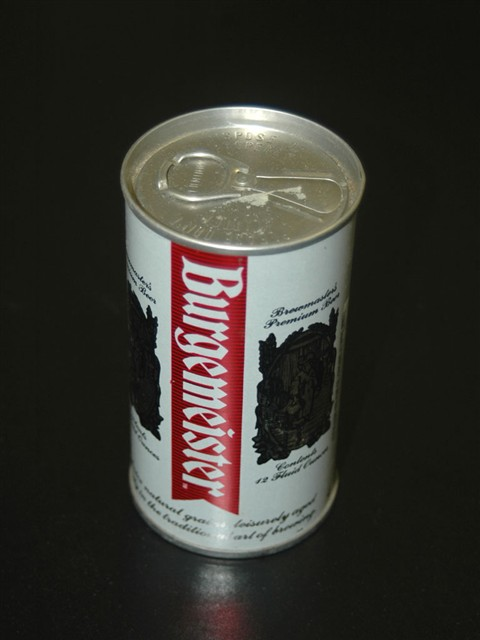 Burgermeister Beer Can 3 00 Gatreasures Com Online Antique Store
