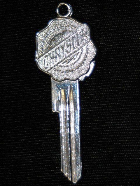 Chrysler Vintage Emblem Key - 1949 an On