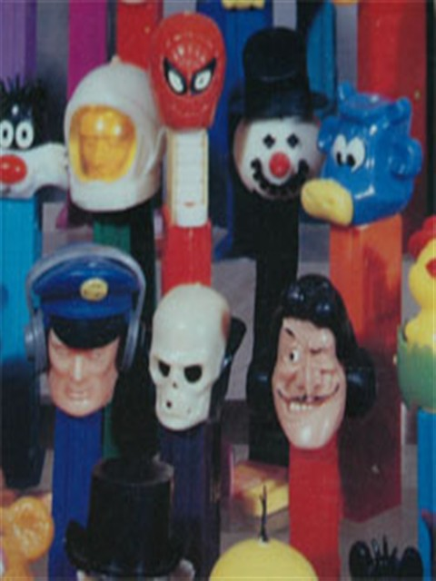 Footless Pez Dispensers