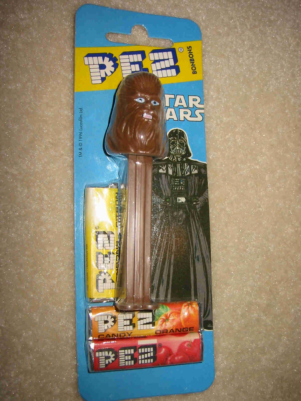 Star Wars - Chewbacca Pez First Series (MOEC)