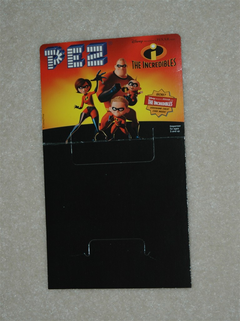 Header Card - Incredibles