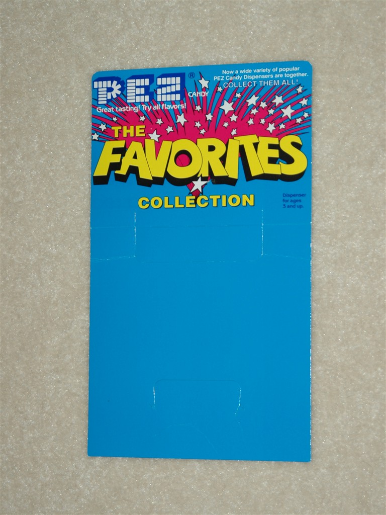 Header Card - Pez Favorites