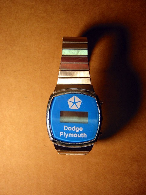 Digital Watch -- Chrysler, Dodge, and Plymouth