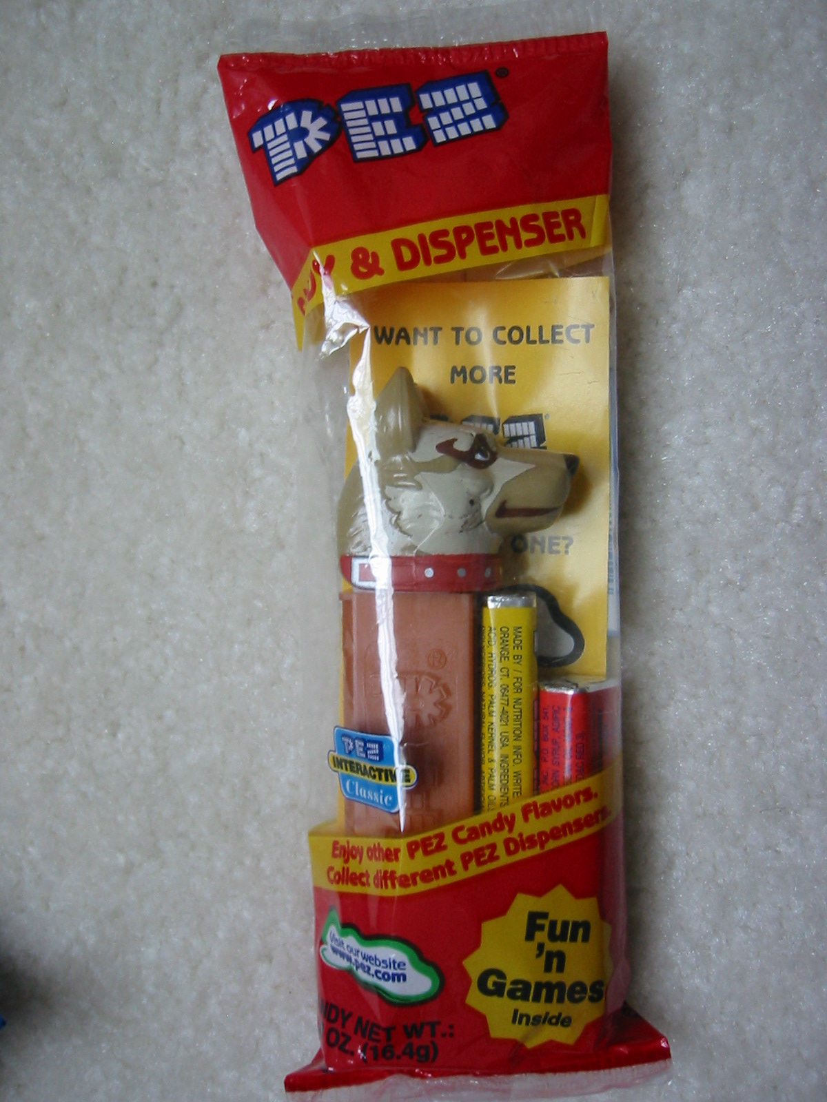 Emergency Heroes Pez - Police Dog (MIB)