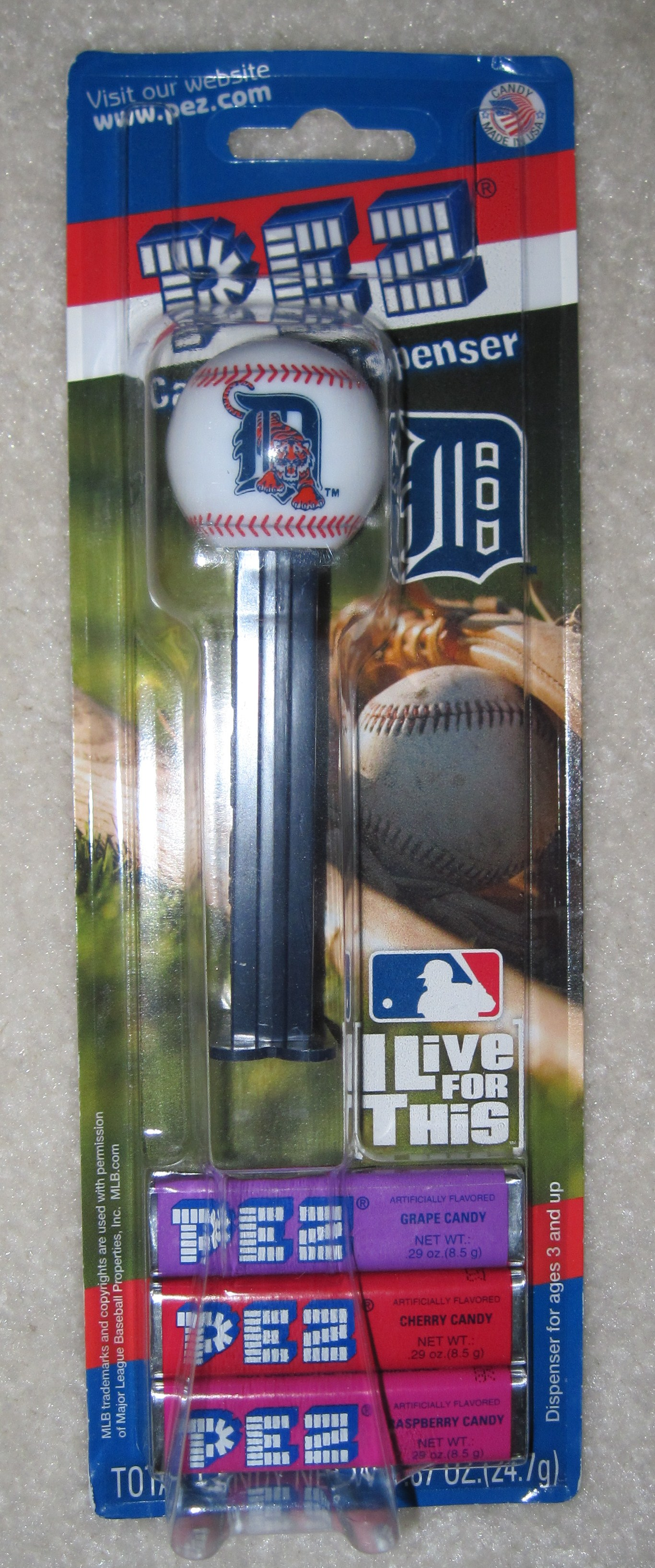 Pez Baseball - Detroit Tigers 2010