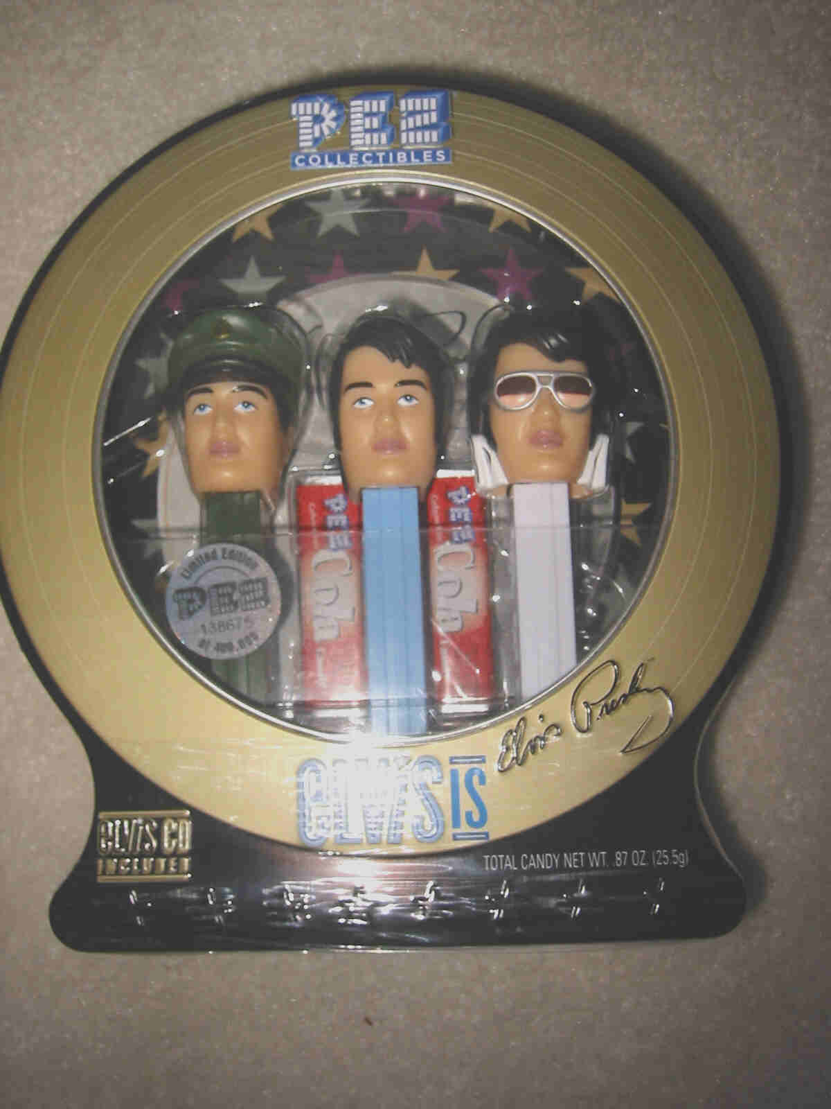 Elvis Pez Dispenser Set