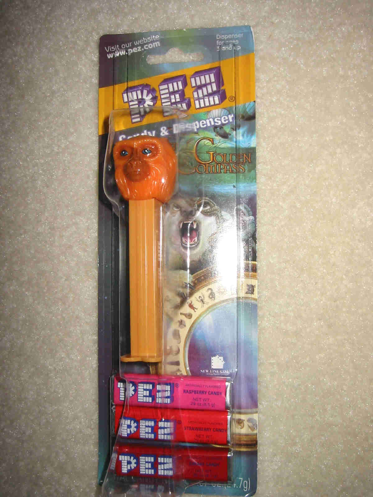 Golden Compass Pez - Golden Monkey (MOC)