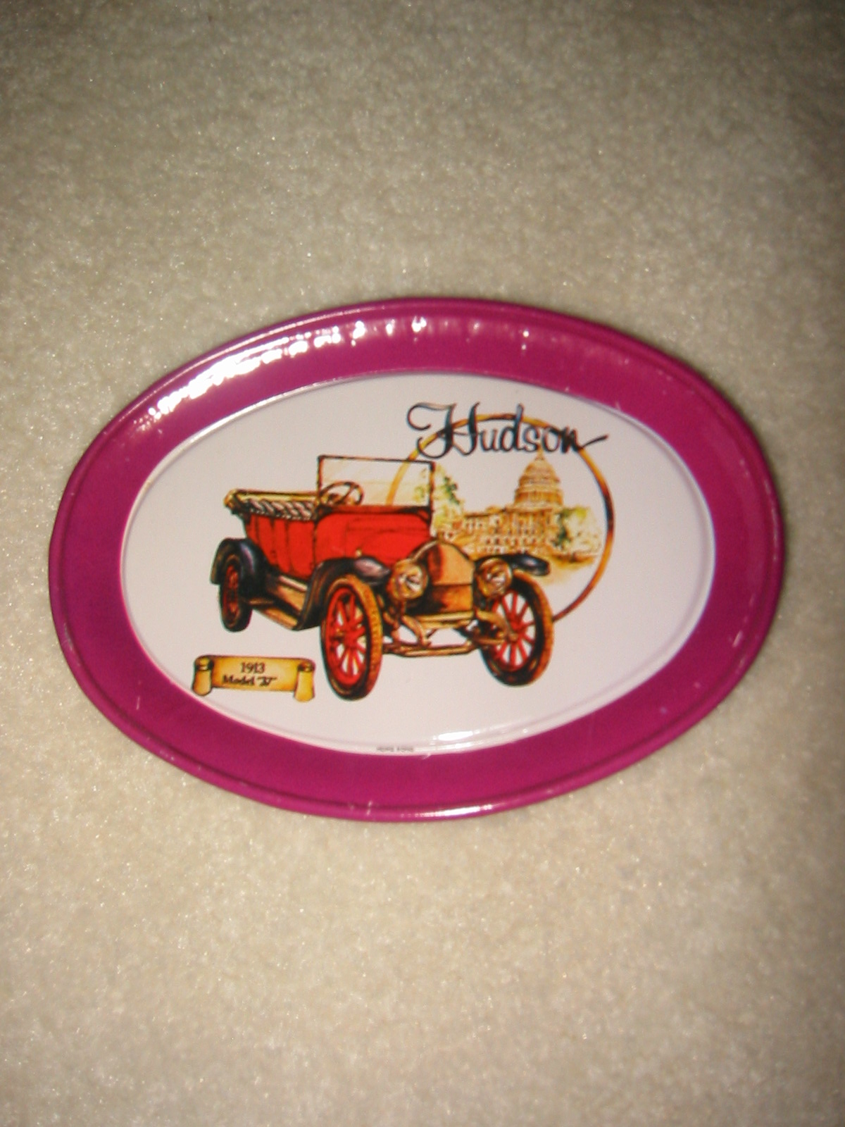 Hudson Tin Tip Tray