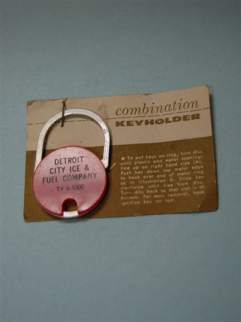 Vintage Combination Key Holder