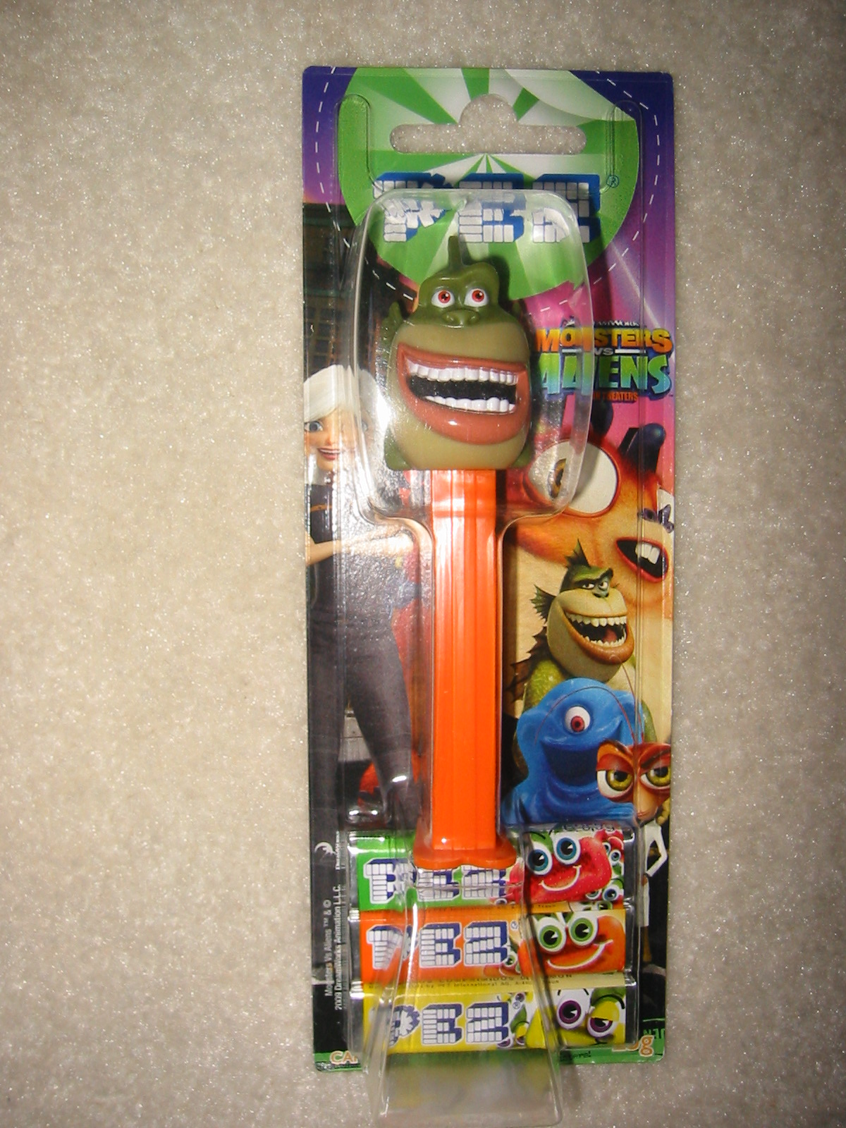 Disney - Monsters vs Aliens Pez, The Missing Link
