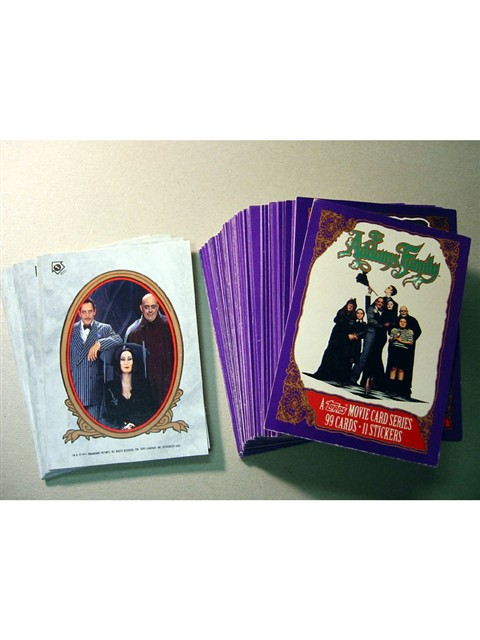 Addams Family Collector Cards
