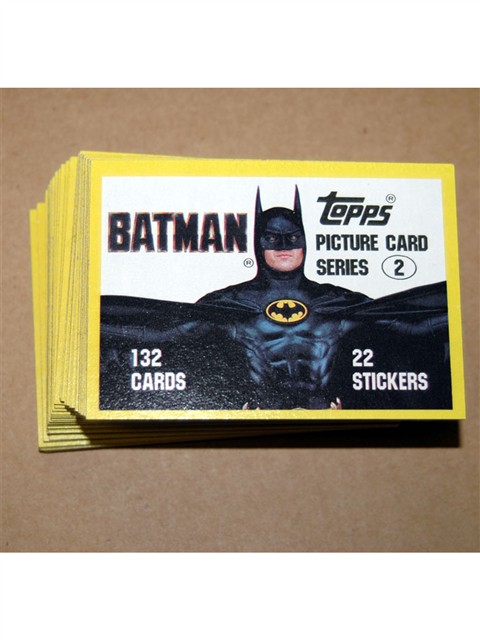Batman Series 2 132 card set w/o stickers