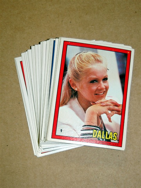 Dallas Collector Card Set