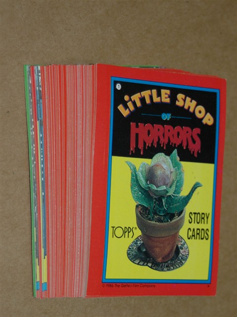 Little Shop of Horrors Collector Card Set