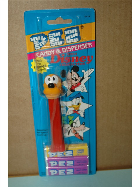 Disney Pluto Pez, Discontinued Version (MOC)