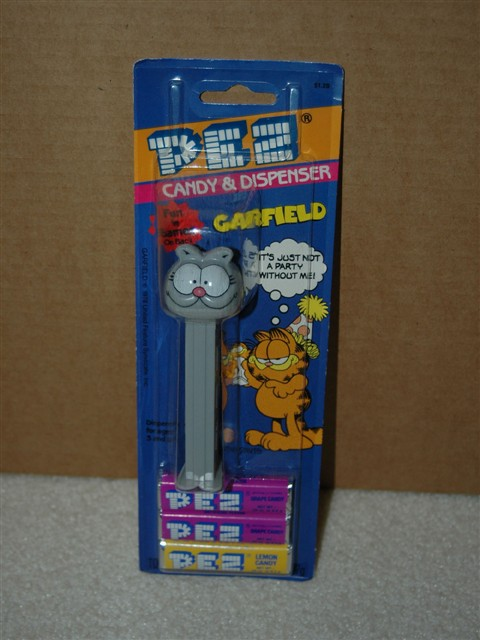 Garfield Pez, Nermal Thin Footed (MOC)