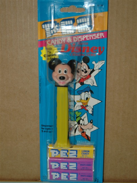 Disney - Mickey Mouse E Pez (MOC)
