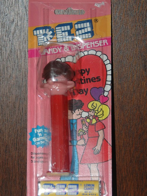 Pez Pal Boy - Valentine Card