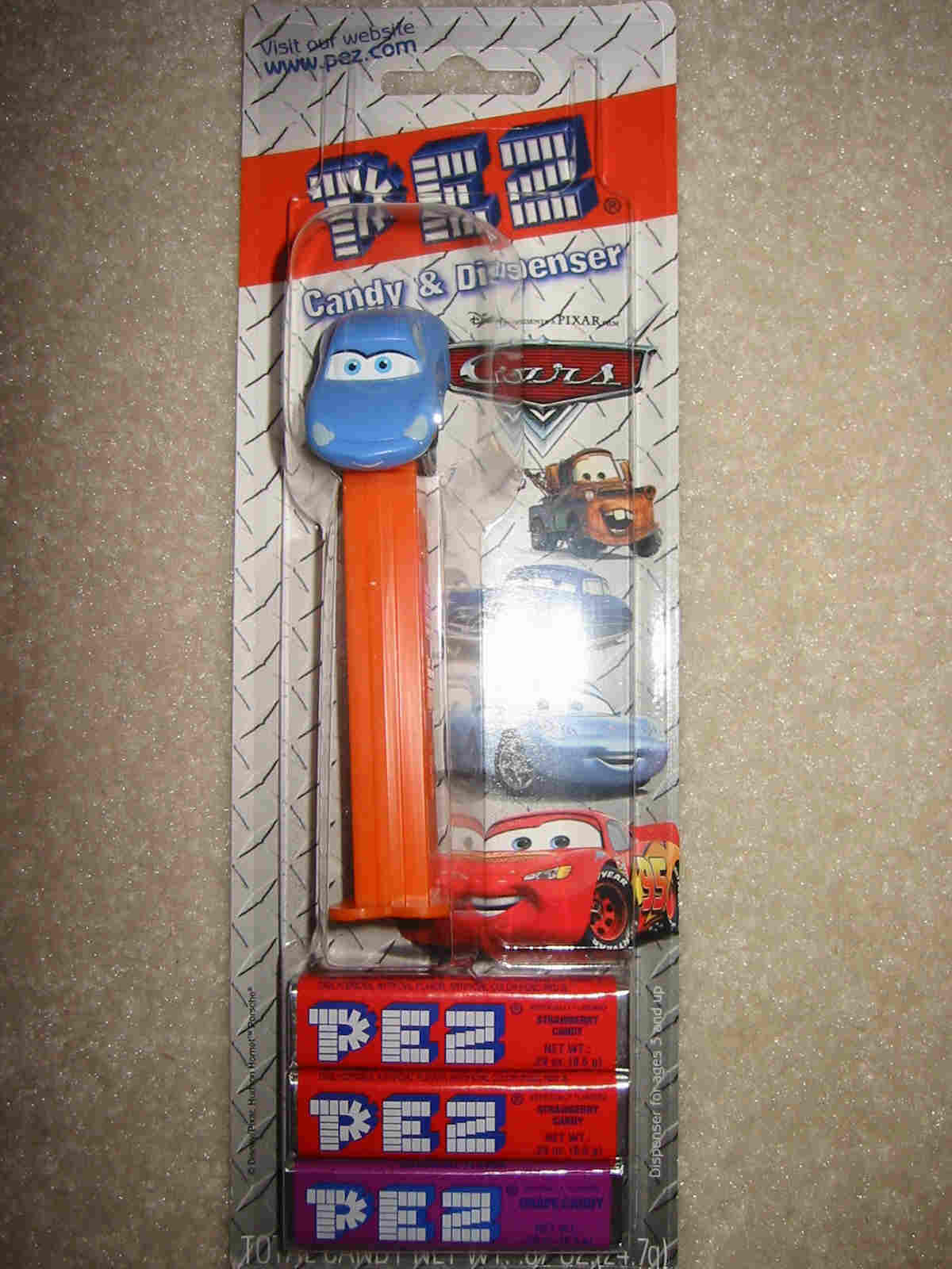 Disney Pixar Cars Pez - Sally
