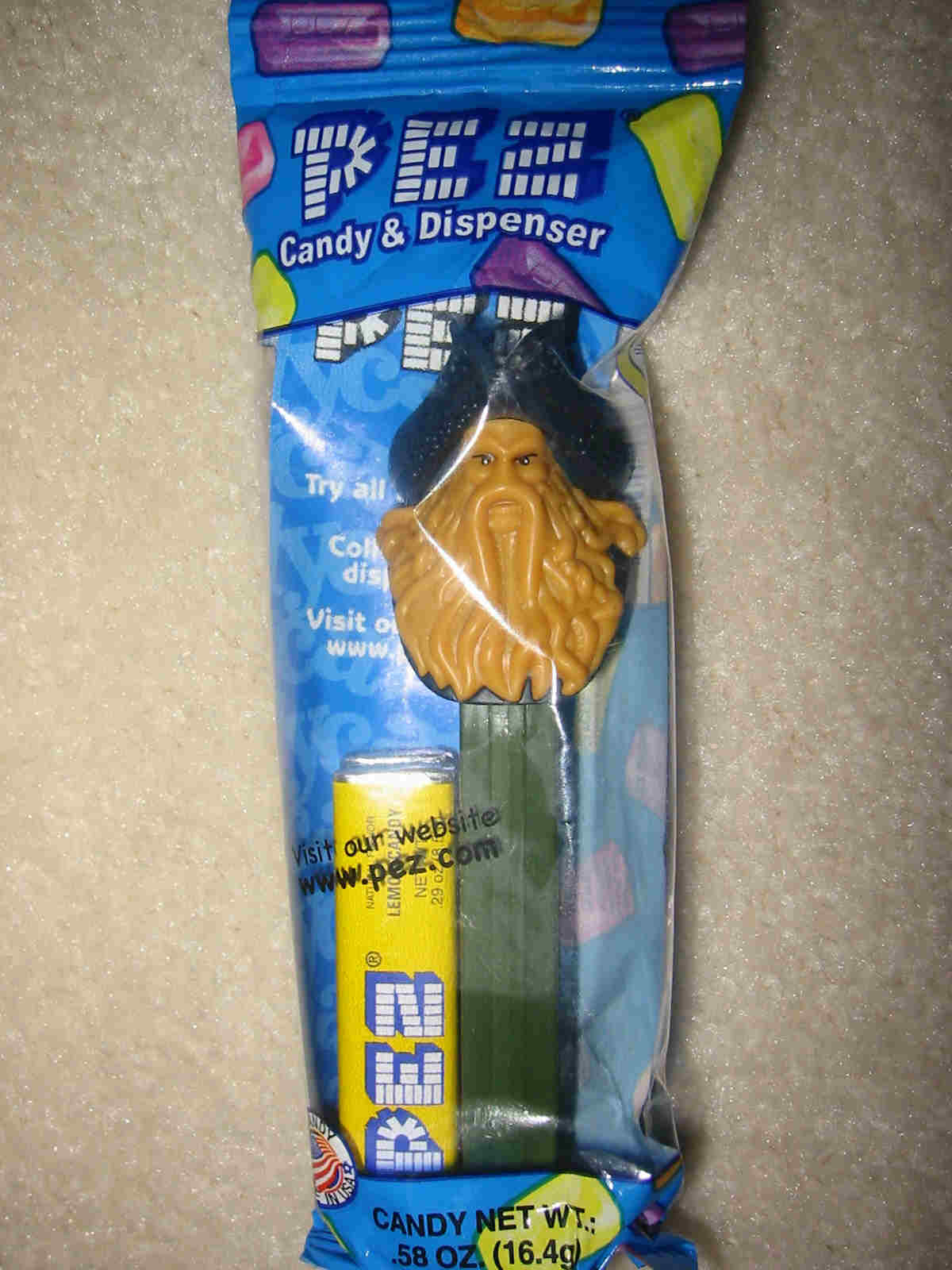 Pirates of the Caribbean Pez - Davey Jones (MIB)