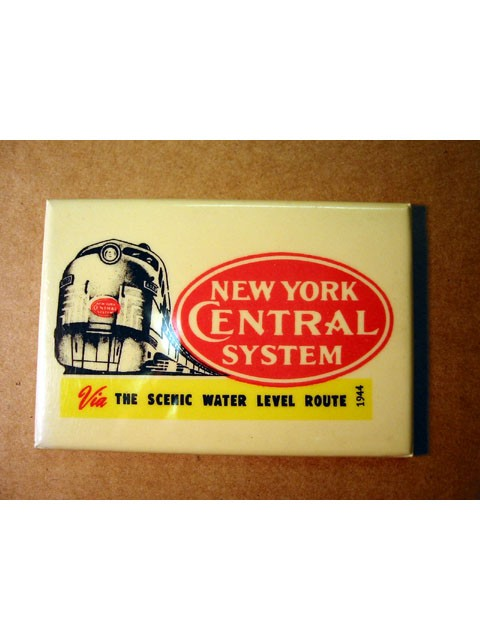Promotional mirror -- New York Central System 1944