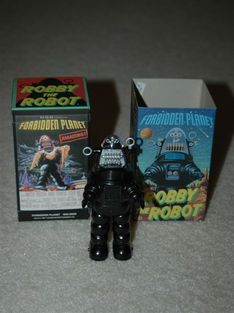 Robby the Robot Walking figure