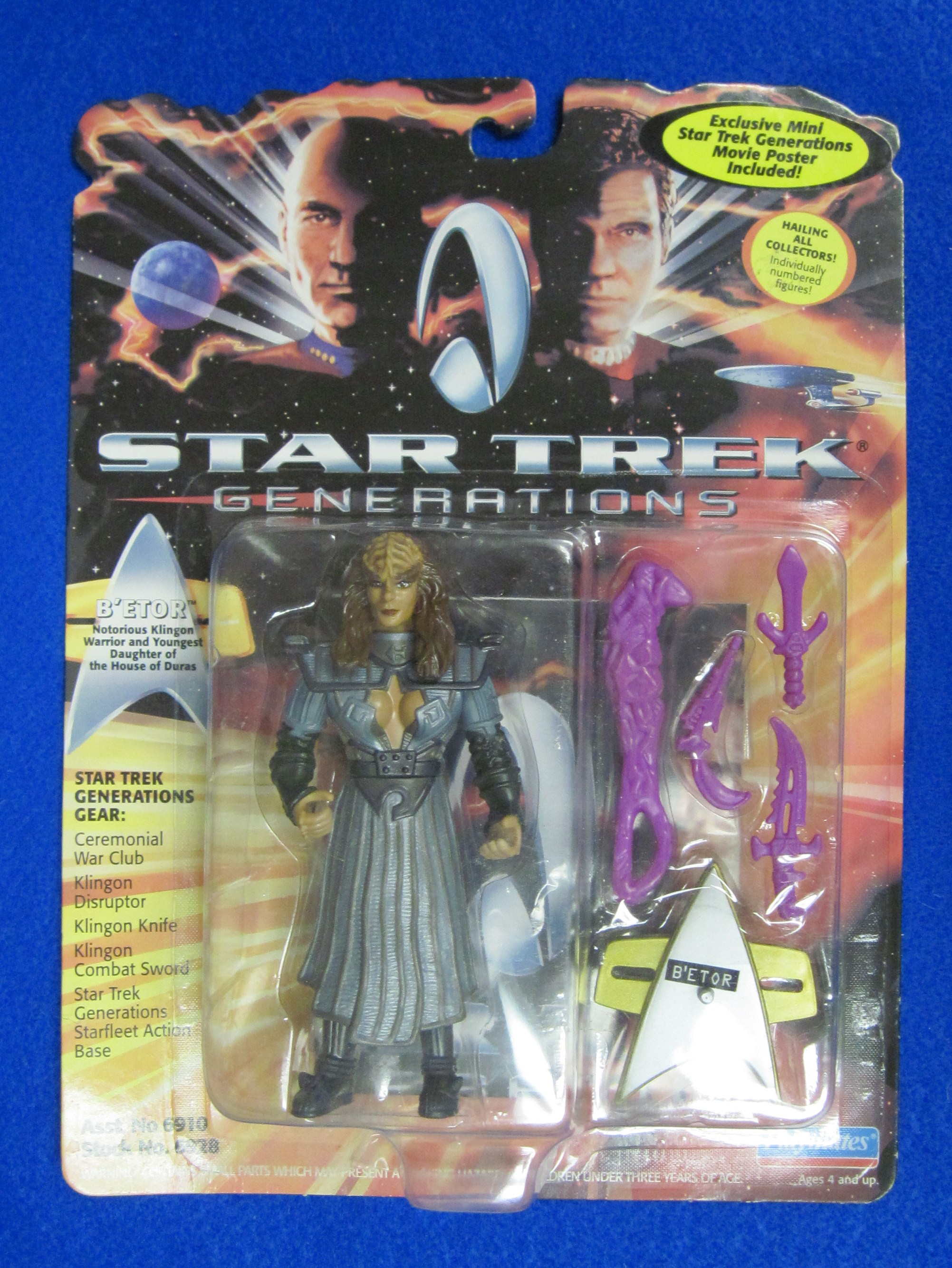 Star Trek Generations Action Figure - B'ETOR