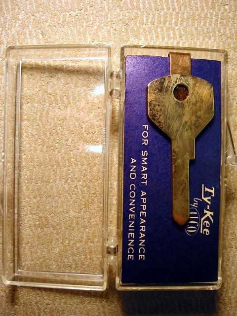Ford Key Tie Clip-- TyKee by Ilco