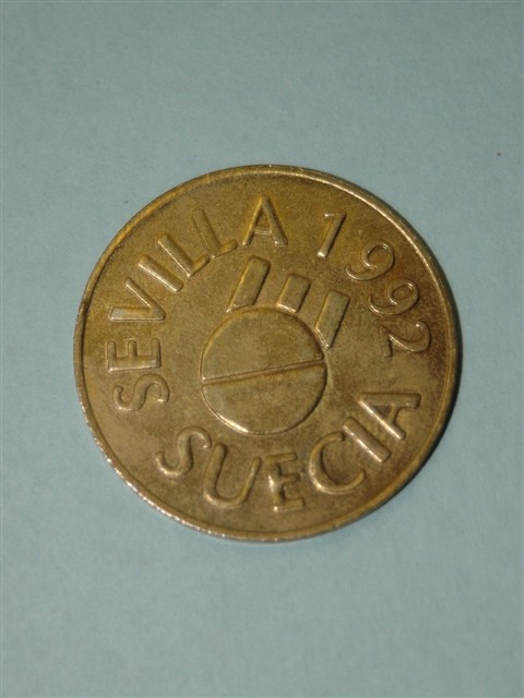 1992 Seville Worlds Fair Token