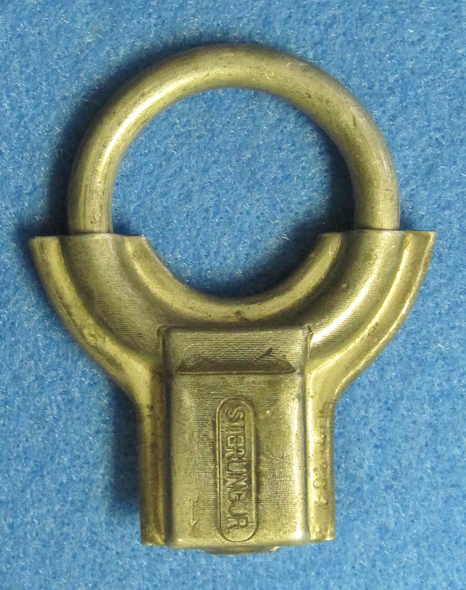 Sterling Padlock - Rotary Shackle