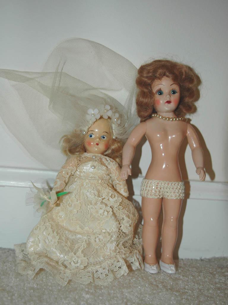 Vintage Plastic Dolls 17