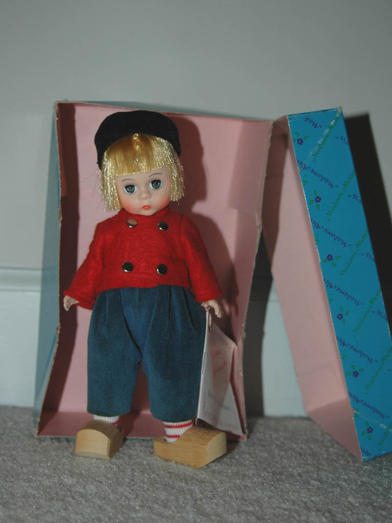 Madame Alexander Dutch Boy Doll