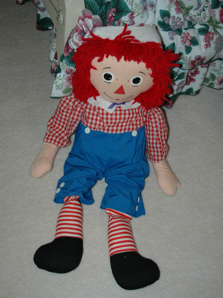 Large Raggedy Andy Doll