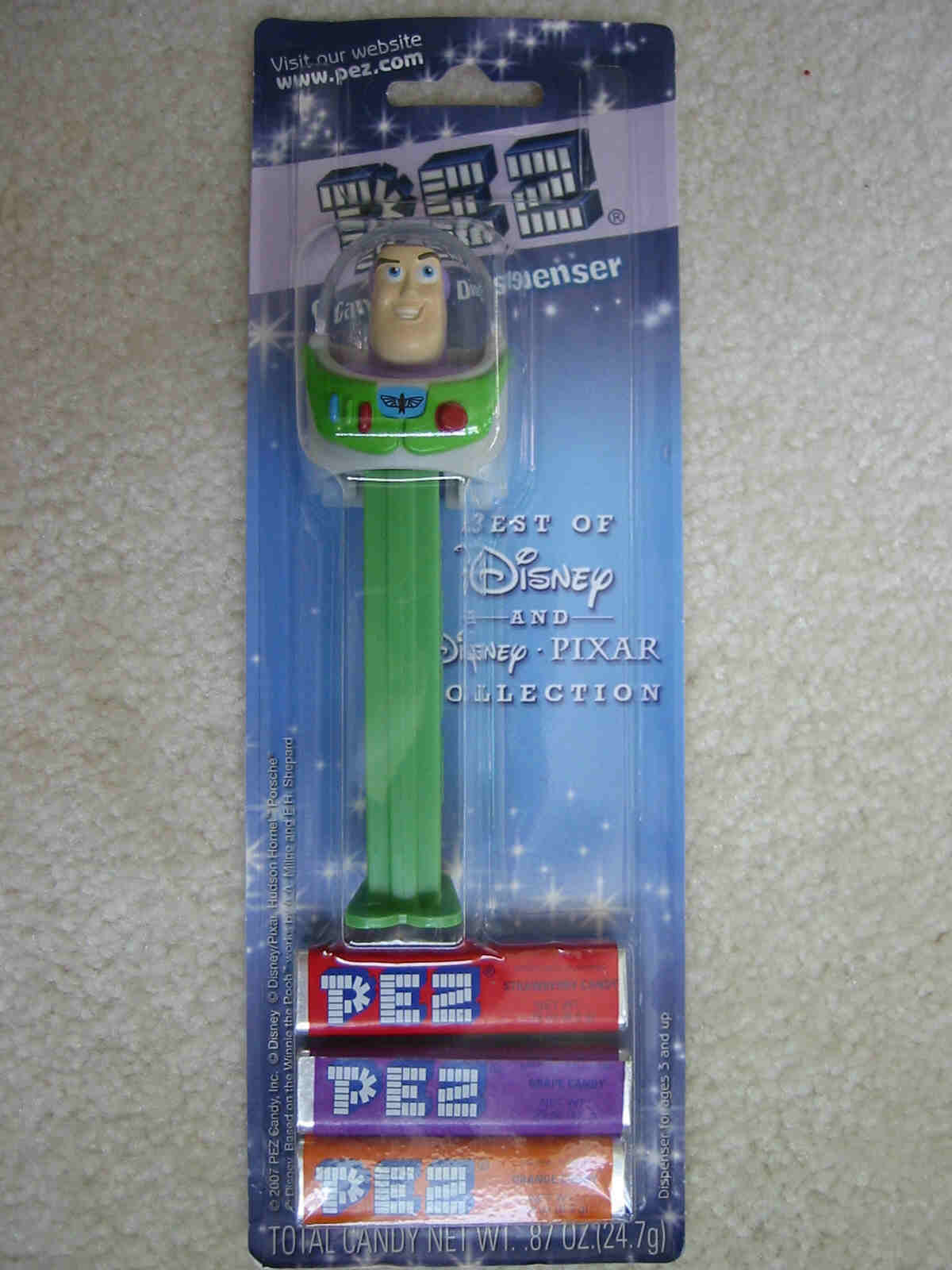 Disney Best of Pixar Pez - Buzz