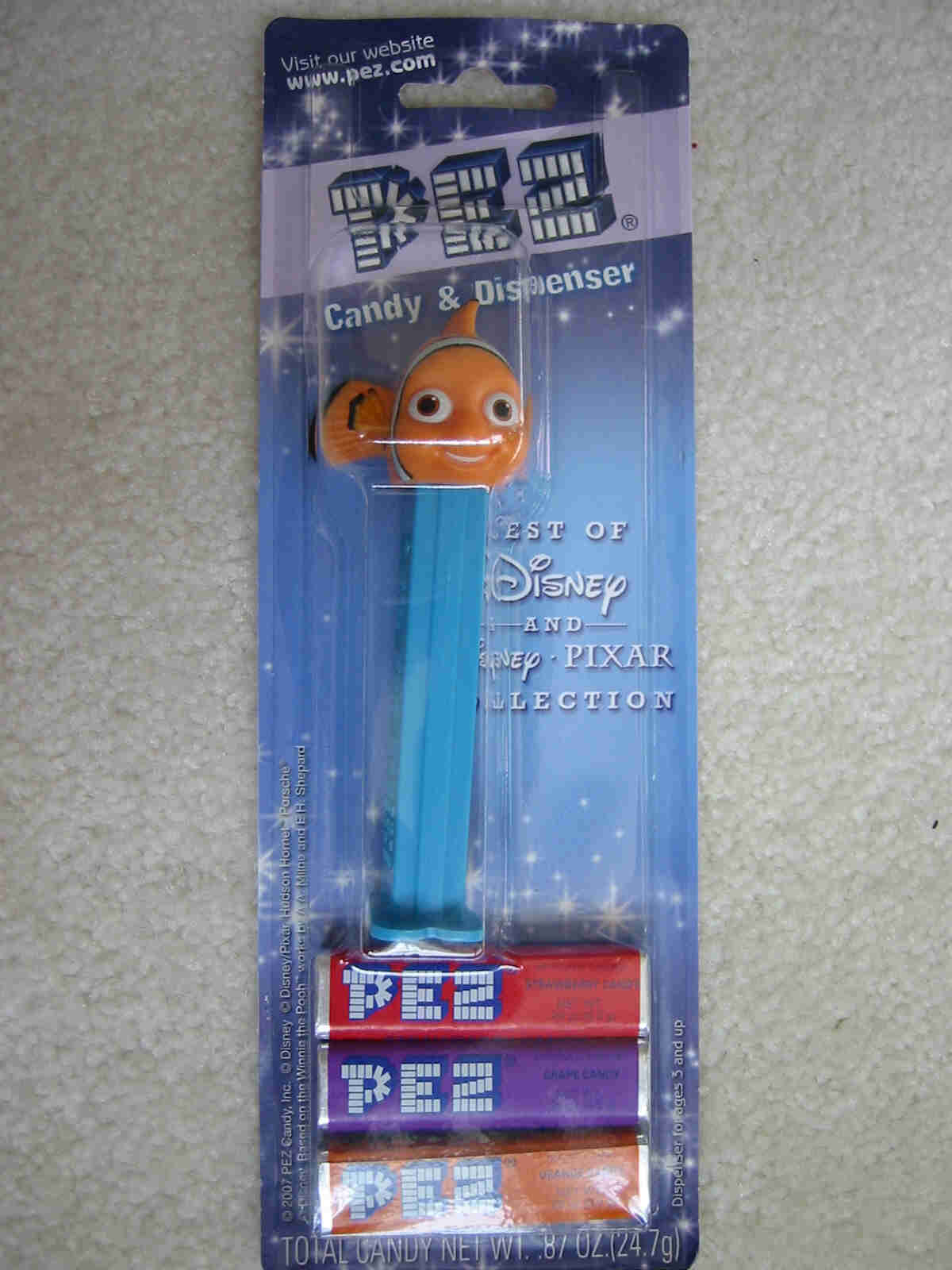 Disney Best of Pixar Pez - Nemo
