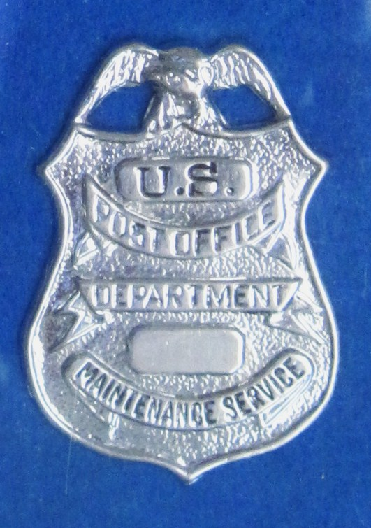 Obsolete U.S. Post Office Maintenance Badge