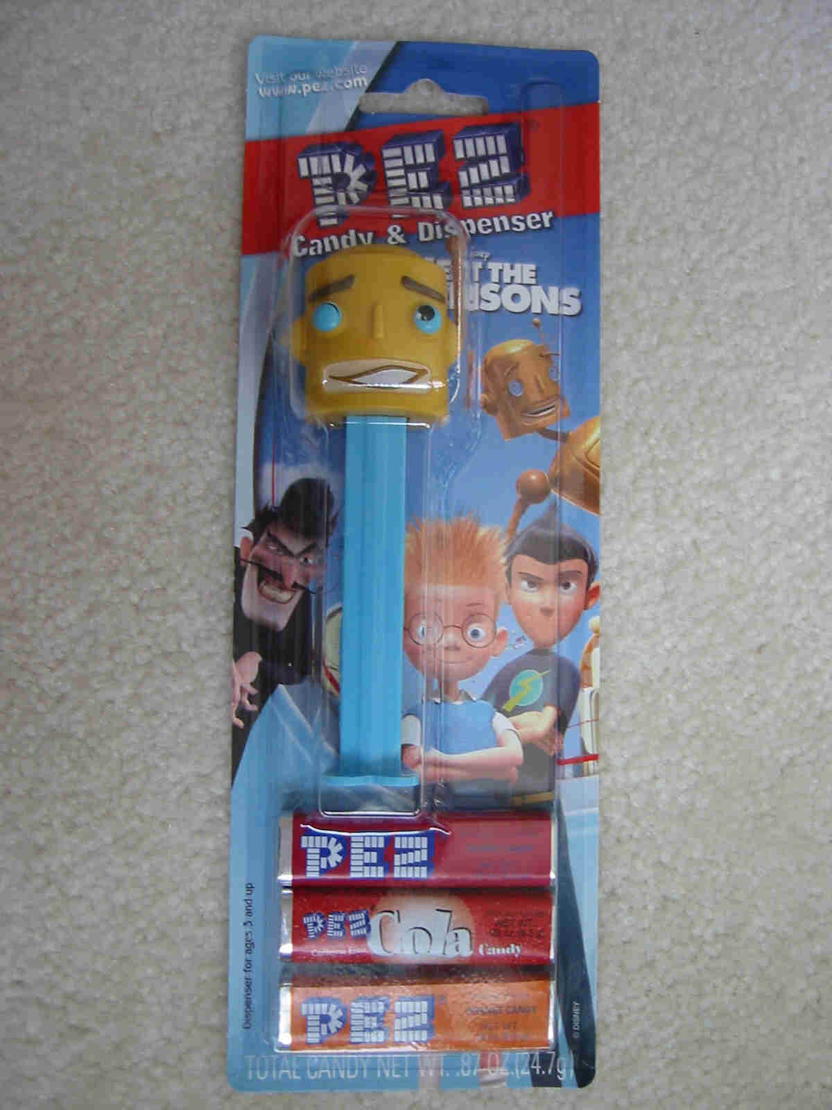 Meet the Robinsons Pez - Carl the Robot