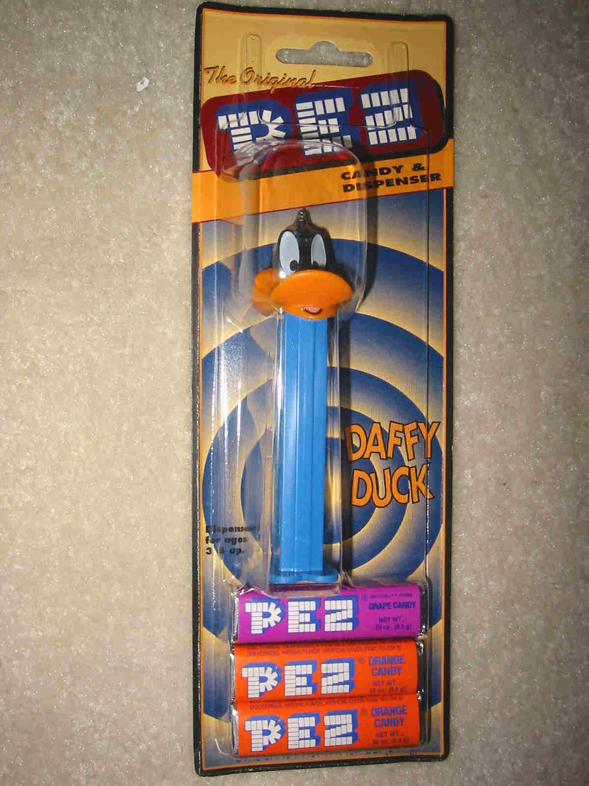 Warner Brothers, Daffy Duck Current Version Pez