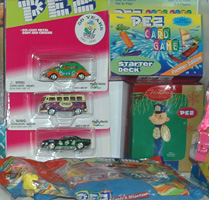 Pez Candy and Licensed Items
