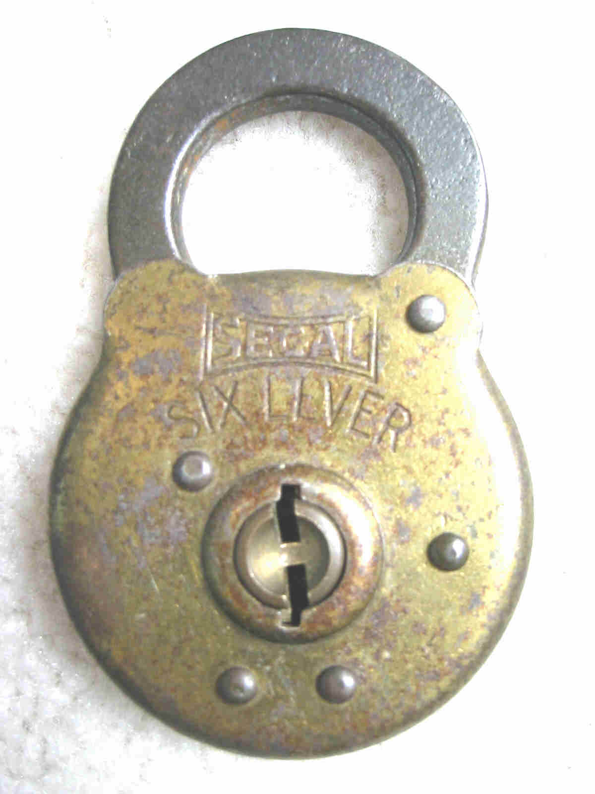 Segal Six Lever Padlock
